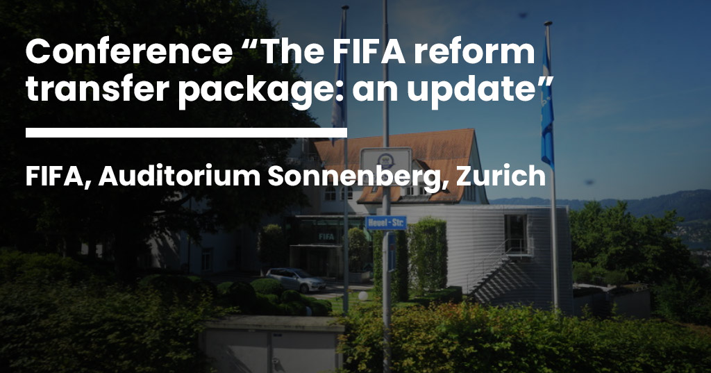 The FIFA reform transfer package: an update