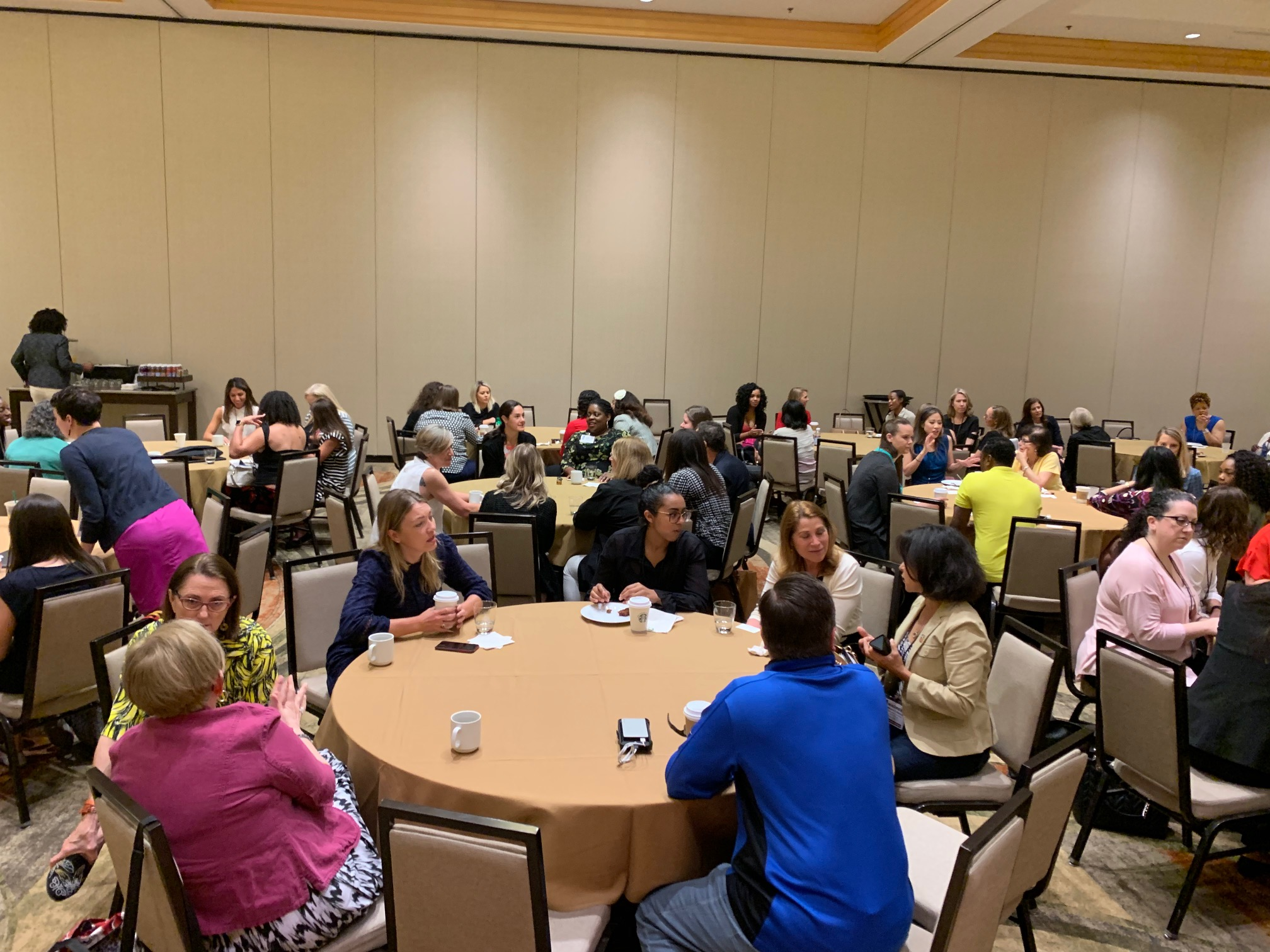 The Women in SLA breakfast brings together more than 100 women during the SLA Annual Conference