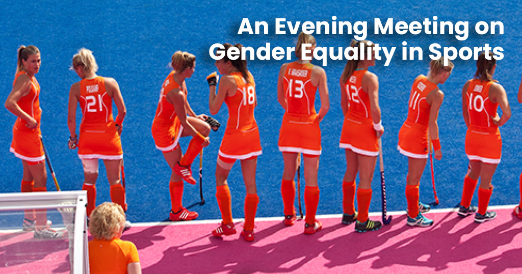 An Evening Meeting on Gender Equality in Sports, taking place on Tuesday 31 March 2020 in Lausanne