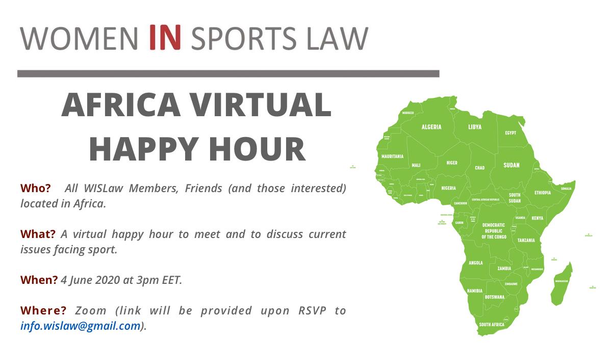 Africa Virtual Happy Hour - 4 June 2020